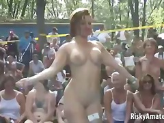 Porn: Դեռահասներ, Փարթի, Աղջիկ, Հասարակական