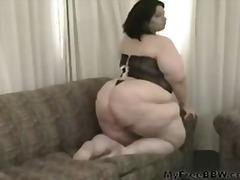 Porn: Ébano, Negro, Gorda, Mulher Bonita Grande