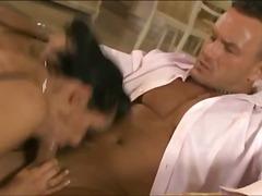 Porno: Seemnepurse, Nailon, Brünetid, Suured Rinnad