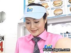 جنس: يابانيات, آسيوى, في العلن, خارج المنزل