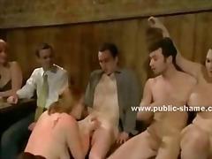 جنس: مجموعات, ضرب الطيز, في العلن, داخل الحلق