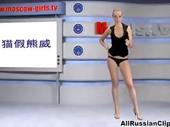 جنس: شقراوات, بلع, القذف, روسيات