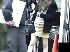 Porn: Voajer, Pod Krilom, Hlačke, Japonka
