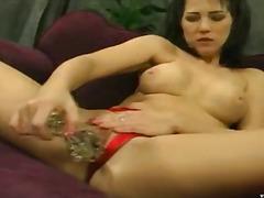 Porno: Tənha, Barmaqla, Masturbasya, Kürən