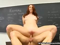 Porno: Õpetaja, Punapea, Hardcore, Raseeritud