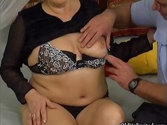 Grandma gets her wet pussy fucked part4