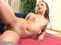 Porno: Masturbeerimine, Lähivõte, Soolo, Beib