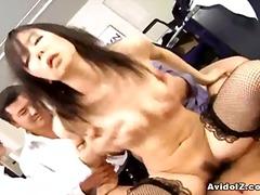 Porn: Japonka, Grupni, V Pisarni, Rjavolaska