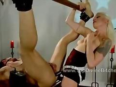 Porno: Kvinnelig Dominans, Bondage, Bdsm, Ekstrem