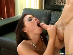 Lovely eva angelina everytime wanted to have her mouth cummed after 1 great nailed