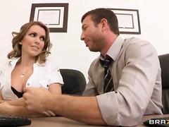 جنس: نيك قوى, نهود كبيرة, في المكتب, مص