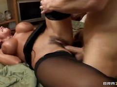 Porno: Corrida, Tetas Grandes, Chupando, Nylon
