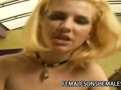 Porr: Hårdporr, Blond, Anal, Avsugning