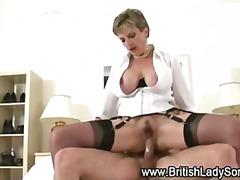 Porno: Fetiş, Üstünə Qurtarmaq, Britaniyalı, Qadın Kişini