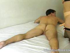 Порно: Штикли, Црн, Дилдо Со Колан, Високи Чорапи
