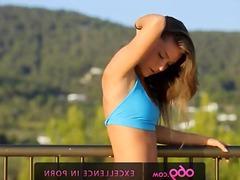 Porn: वयस्क, खुले में, सुनहरे बाल वाली
