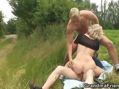 Porno: Grupinis Trise, Subrendusios, Lauke, Hardcore