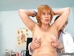 Porno: Spalvainās, Pusmūža Sievietes, Mājsaimniece, Ārsts