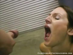 Porno: Teenager, Blowjobs, Cumshot, Brunetter
