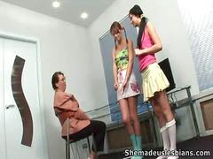 جنس: أوروبى, مراهقات, خارج المنزل, الزبار الصناعية