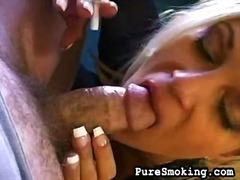 Porr: Fetisch, Rökning, Stora Bröst, Avsugning