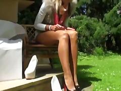 Porno: Xalaşka, Alman