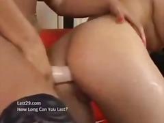 Porno: Lesbi, Dildo, Rinnakas, Lesbi