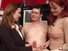 Porn: Trojček, Fafanje, Rdečelaska, Rjavolaska