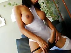 Porn: हिजड़ा, बड़े स्तन, अकेले, मूठ मारना