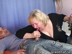 Porn: Babica, Debela Dekleta, Analno, Fafanje