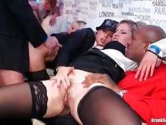 Porno: Çalanşik, Millətlərarası, Ağır Sikişmə
