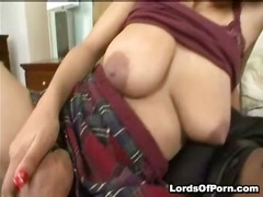 Porn: Starejše Ženske, Postelja, Velik Kurac, Velike Joške