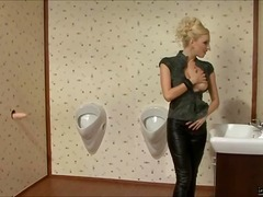 Porn: Masturbacija, Bizarno, Luknja V Steni, Blondinka