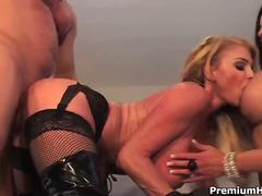 Porno: Threesome, Me Fytyrë, Derdhja E Spermës, Hardkorë