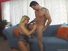 Porn: Masturbacija, Blondinka, Velike Joške, Oralno