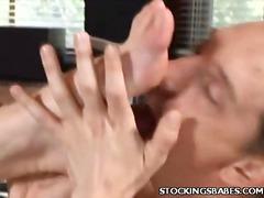 Porn: काले बाल वाली, पैरों की कामुकता