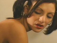 Porno: Oralinis Seksas, Spermos Šaudymas, Brunetės