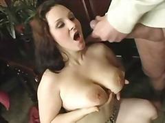 Porno: Seemnepurse, Küps, Näkku Purskamine