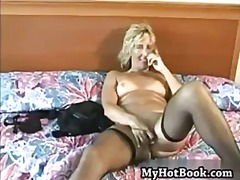 Porn: Igrača, Blondinka, Solo, Masturbacija