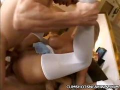 Porno: Me Fytyrë, Derdhja E Spermës