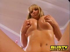 Porn: Blondinka, Velike Joške, Solo