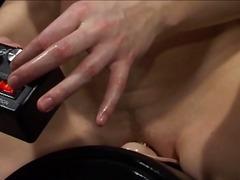 Porno: Juguetes, Solo, Dedos Dentro, Masturbándose