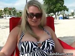 Porno: Publicznie, Blondynki, Na Plaży, Ekshibicjonizm