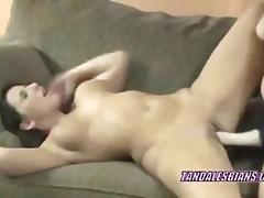 Porno: Orta Yaşlı Seksi Kadın, Evde Çekilmiş, Vibratör, Lezbiyen