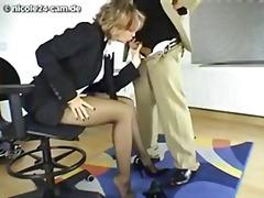 جنس: جوارب طويلة, في المكتب