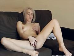 Porno: Blondinės, Masturbacija, Plaukuotos Putės