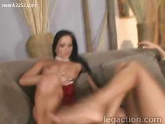 Porn: Saltos Altos, Gostosa, Masturbação, Lésbica