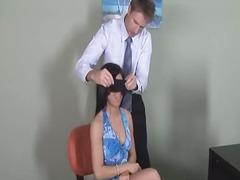 18yo eva fucking blindfolded