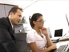 Porn: V Pisarni, Analno, Piercing, Rjavolaska