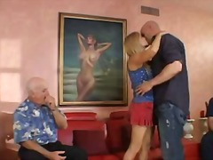 Porno: Threesome, Bjondinat, Reale, Milf